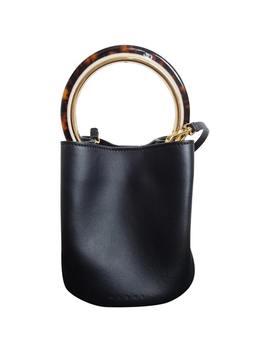 Pannier Leather Crossbody Bag by Marni