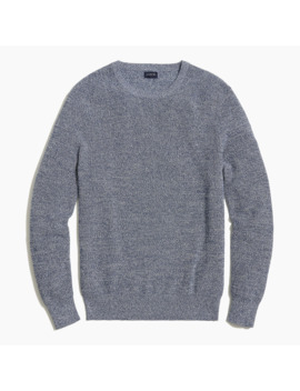 Marled Cotton Crewneck by J.Crew