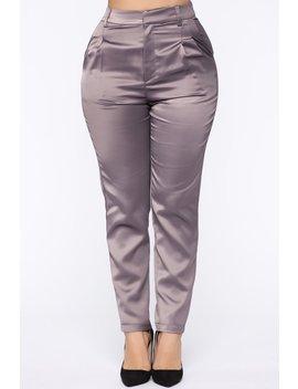 Keeping It Fresh Pant   Grey by Fashion Nova