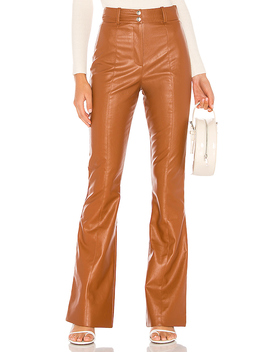 Blake Pant In Brown Spice by Majorelle