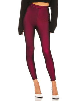 Joni Mesh Legging In Hot Pink & Black by Superdown