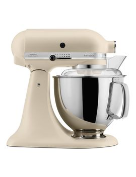 Artisan 5 Ksm175 Psbfl Stand Mixer   Cream by Currys