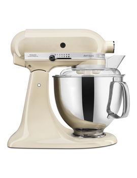 Artisan 5 Ksm175 Psbac Stand Mixer   Almond Cream by Currys