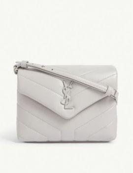 Lou Lou Toy Monogram Leather Shoulder Bag by Saint Laurent