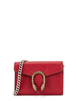 Dionysus Red Leather Card Holder by Gucci