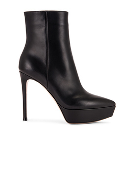 Platform Ankle Booties by Gianvito Rossi