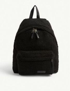 Pak'r Faux Shearling Backpack by Eastpak