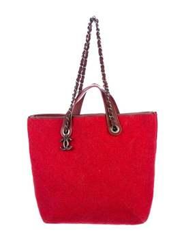 Medium Pop Felt Shopping Bag by Chanel