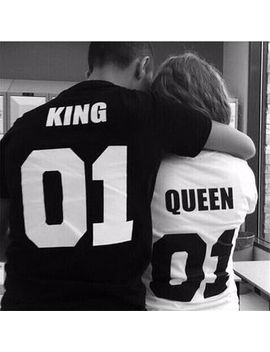 Dream Girl   Couple Matching Print Short Sleeve T Shirt by Dream Girl