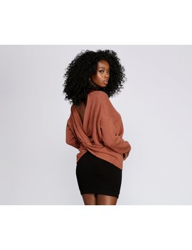 What's Knot To Like Pullover by Windsor