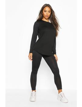 Soft Long Sleeve Lounge Set by Boohoo