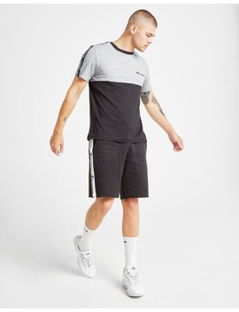 Champion Tape Sleeve T Shirt by Champion