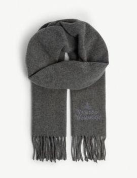 Fringe Wool Scarf by Vivienne Westwood
