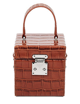 Florian London Fl Leather Cube Bag by Florian London