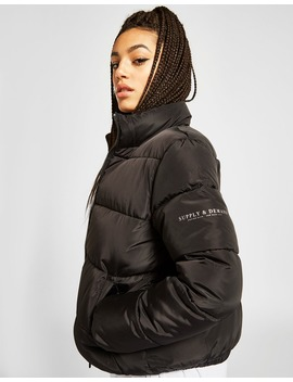 Supply & Demand Logo Puffer Jacket by Jd Sports