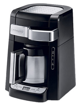 De Longhi 10 Cup Drip Coffee Maker With Front Access by Delonghi