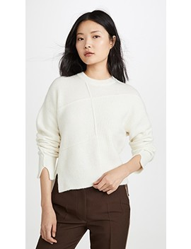 Lofy Basketweave Pullover by 3.1 Phillip Lim