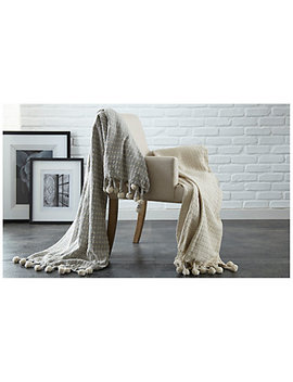 Colonial Home Cross Stitch Throws Set Of Two by Colonial Home