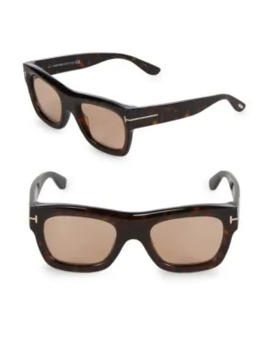 52 Mm Square Sunglasses by Tom Ford