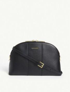 Katlin Leather Cross Body Bag by Ted Baker
