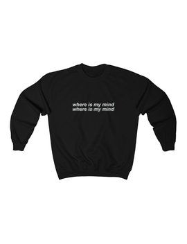 Where Is My Mind  Unisex Crewneck Sweatshirt by Kokopiecoco
