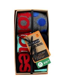 Threads By Totes 3 Pack Novelty Ankle Socks by Threads