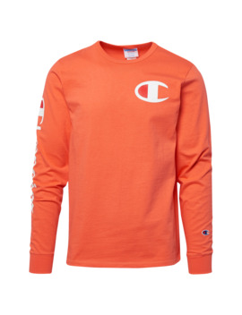 Champion Heritage Left Chest L/S T Shirt by Champion