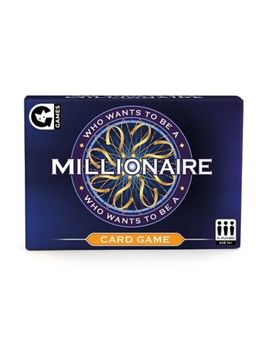 Who Wants To Be A Millionaire Card Game by Novelty