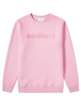 Soulland Logic Logo Crew Sweat by End.