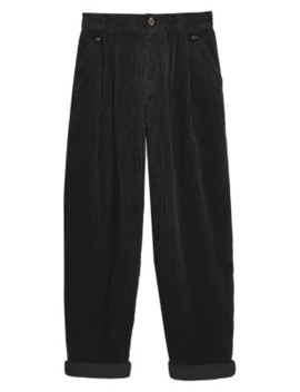 Casual Corduroy Peg Trousers by Topshop