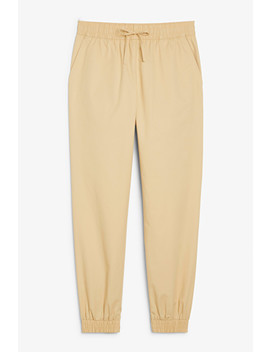 Cotton Joggers by Monki