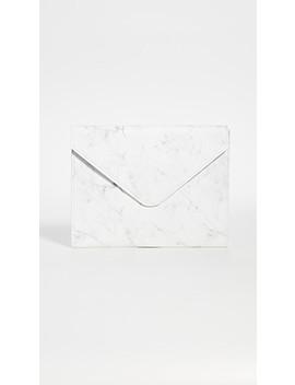 Marble Envelope Laptop Sleeve by Skinnydip