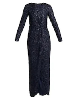 Robe De Cocktail   Bleu Marine by Nly By Nelly