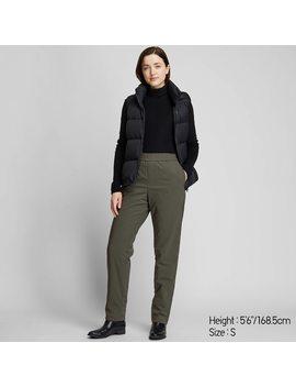 Pantalon Coupe Vent Extra Chaud DoublÉ Polaire Femme by Uniqlo