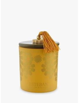 Esteban Ambre Scented Candle In A Box, 170g by Esteban