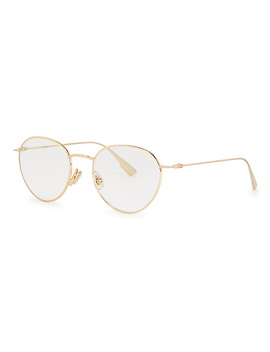 Dior Stellaire02 Round Frame Optical Glasses by Dior