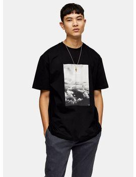 Future Print T Shirt In Black by Topman