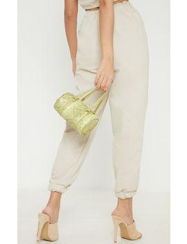 Petite Stone Elastic Waist Jogger Trouser by Prettylittlething