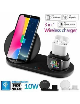 <Span><Span>3 In 1 Wireless Charger Dock Stand I Watch Charging Station For I Phone X 8 S9 S8</Span></Span> by Ebay Seller