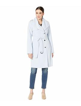 Double Wave Draped Belted Coat by Calvin Klein