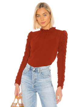 Ruched Long Sleeve Blouse by See By Chloe