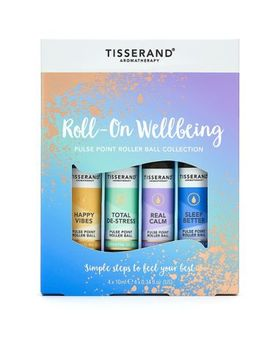 Tisserand Aromatherapy Roll On Wellbeing Pulse Point Roller Ball Collection by Tisserand