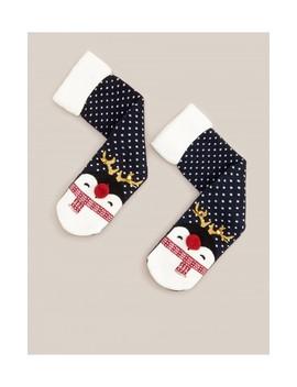 Ponožky S Vánočním Motivem by Reserved