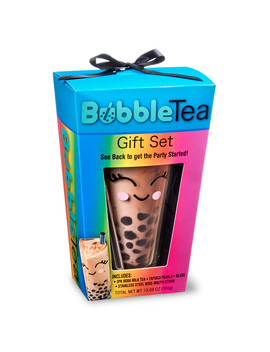 Bubble Tea Kit Gift Set, 6 Pieces by Bay Island
