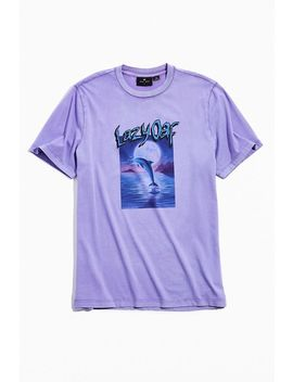 Lazy Oaf Over The Moon Dolphin Tee by Lazy Oaf
