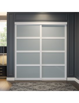 Glass Sliding Closet Door by Oxford