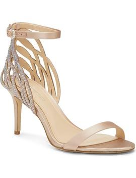 Imagine Vince Camuto Pharra Crystal Ankle Strap Sandal by Imagine By Vince Camuto