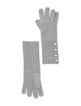 Ribbed Knit Gloves by Michael Michael Kors