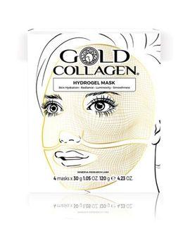 Gold Collagen Hydrogel Face Masks   4 Masks by Gold Collagen