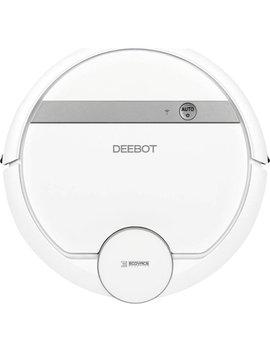 Deebot 900 App Controlled Robot Vacuum   White by Ecovacs Robotics